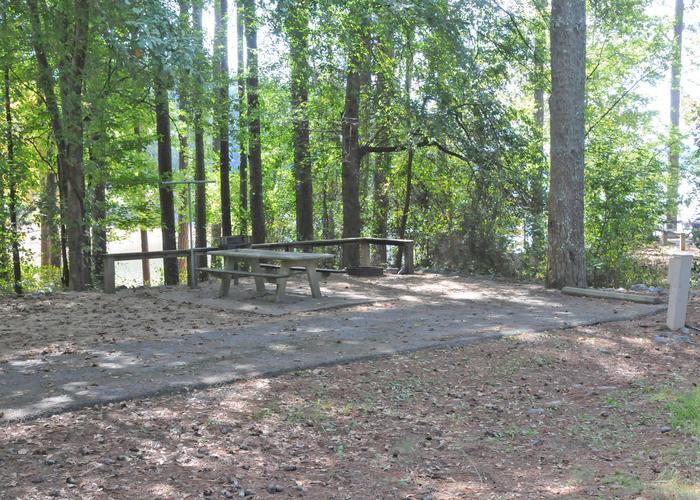 Victoria Campground Site 26