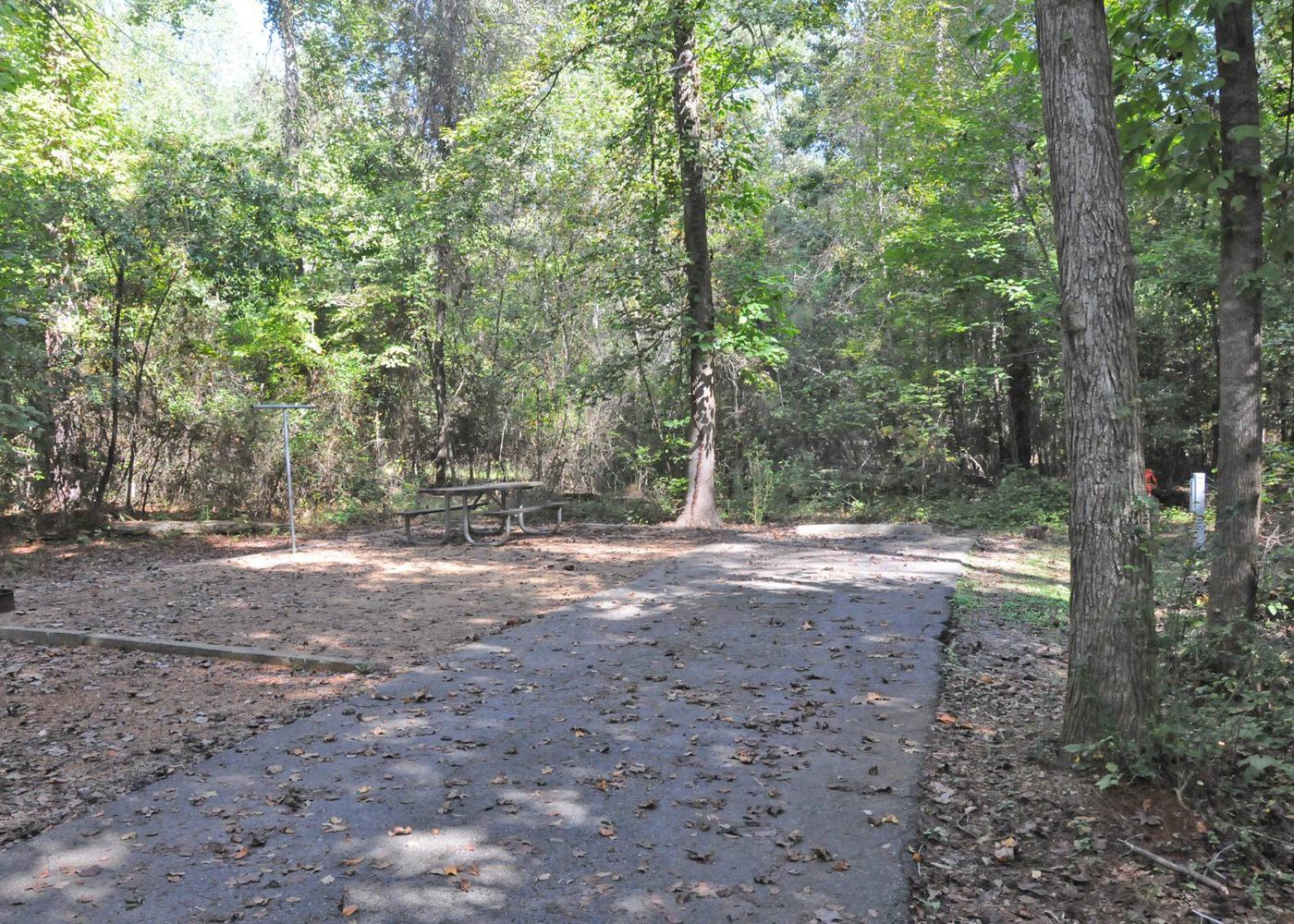 Victoria Campground Site 30