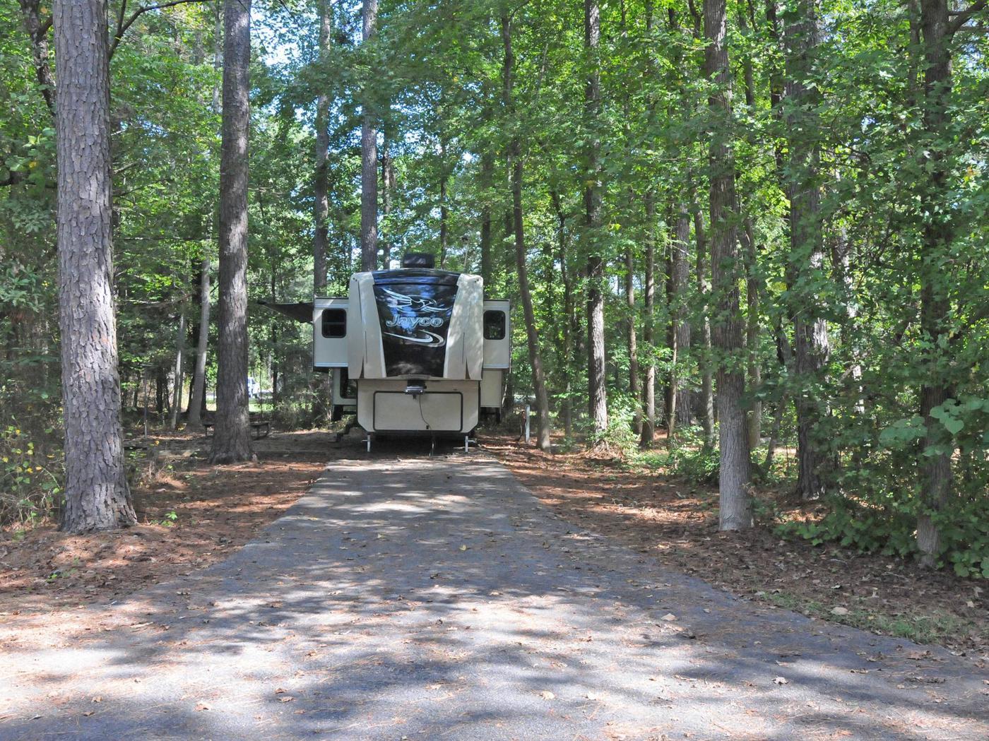Victoria Campground Site 31