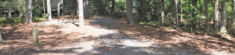 Victoria Campground Site 32