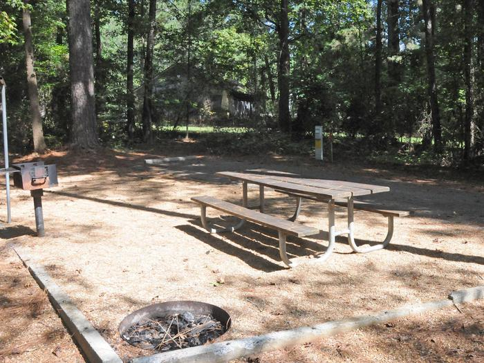 Campsite viewVictoria Campground Site 32