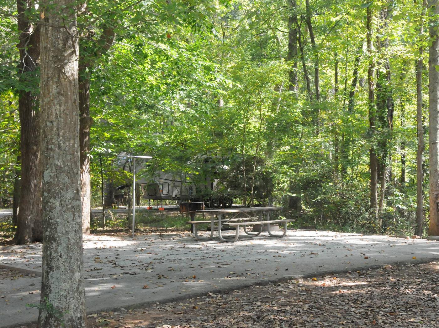 Victoria Campground Site 34