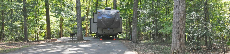 Victoria Campground Site 36