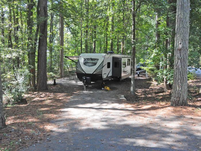 Victoria Campground Site 37