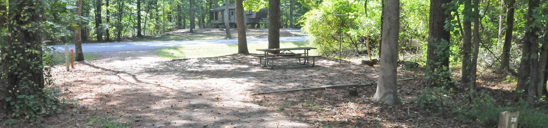 Victoria Campground Site 38