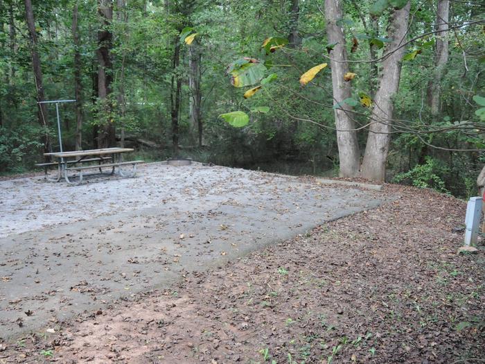 Victoria Campground Site 44