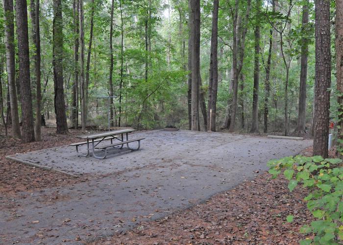 Victoria Campground Site 45