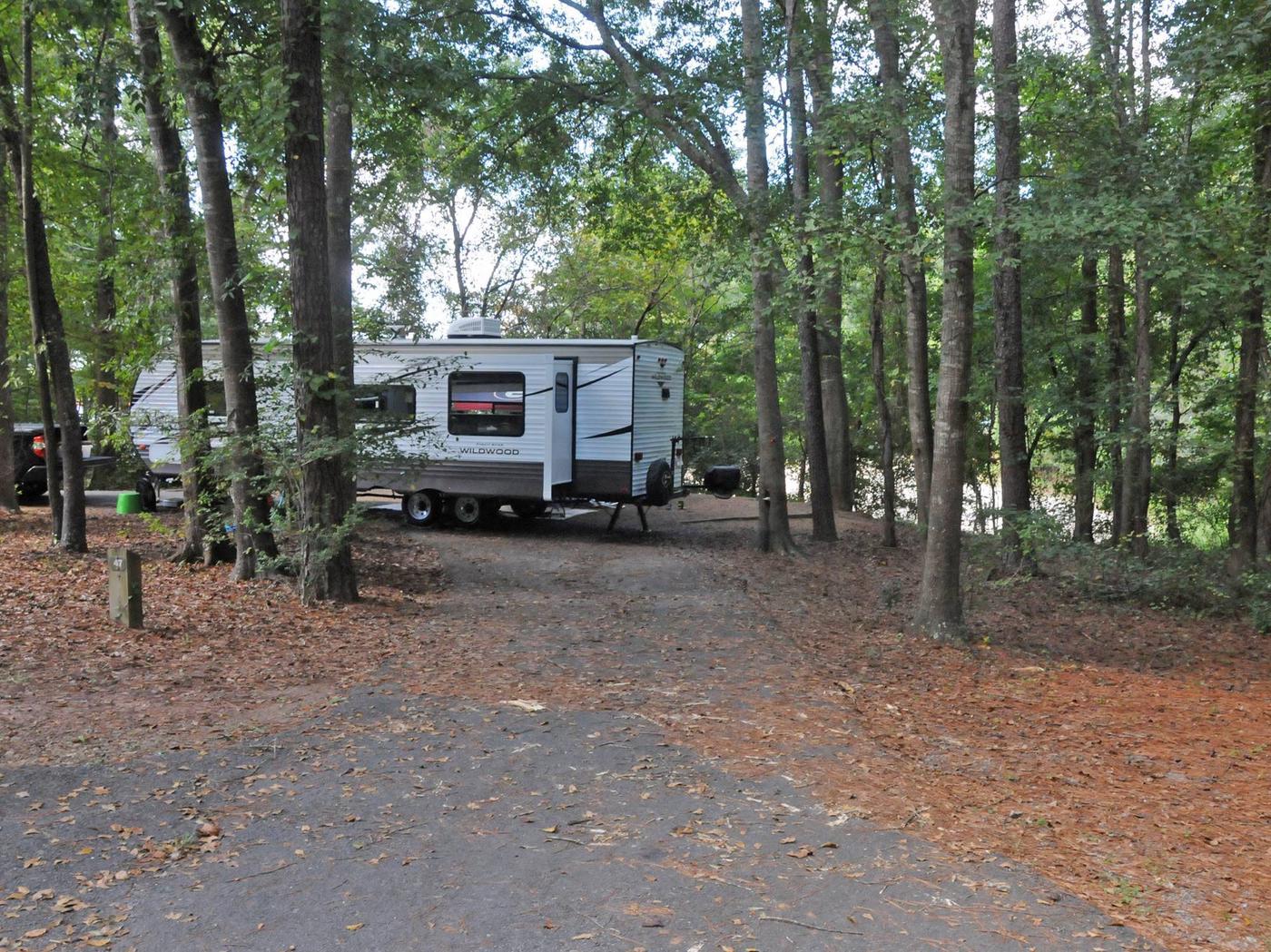 Victoria Campground Site 47