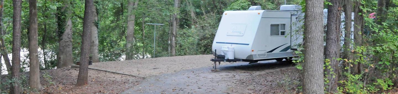 Victoria Campground Site 48