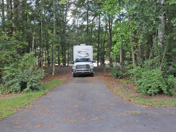 Victoria Campground Site 49