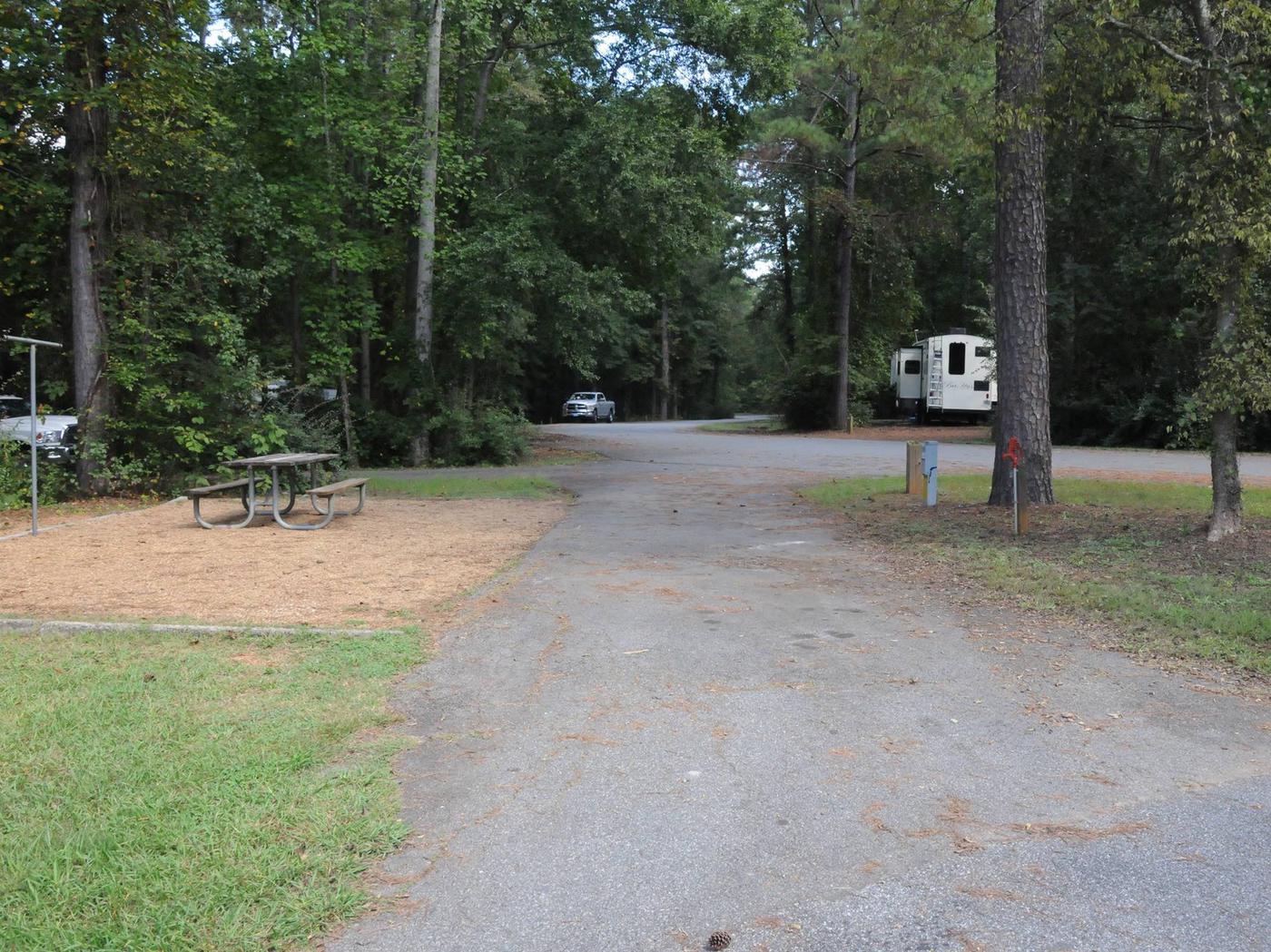 Victoria Campground Site 50