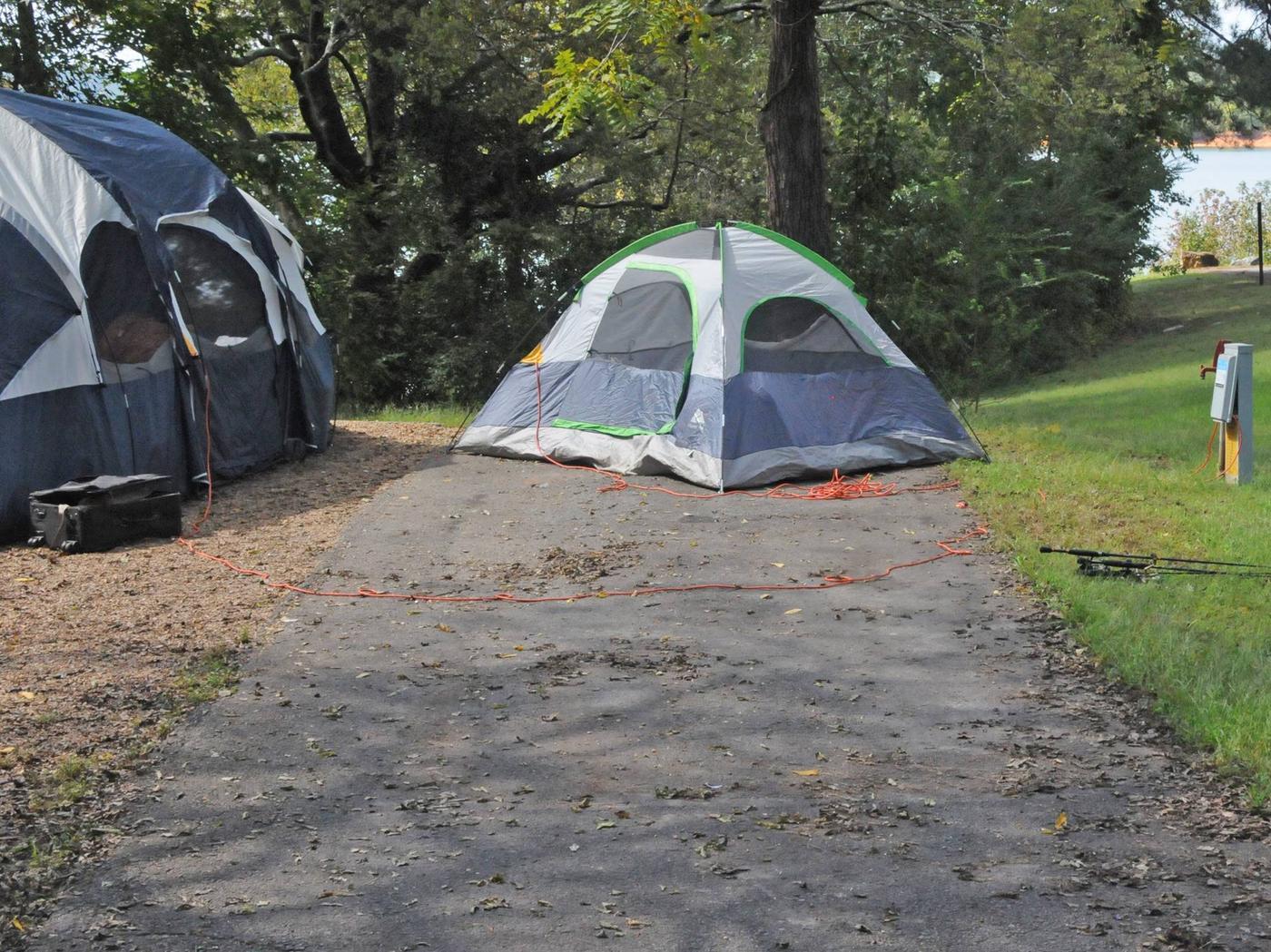 Victoria Campground Site 51