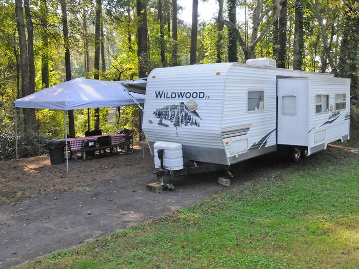 Victoria Campground Site 52