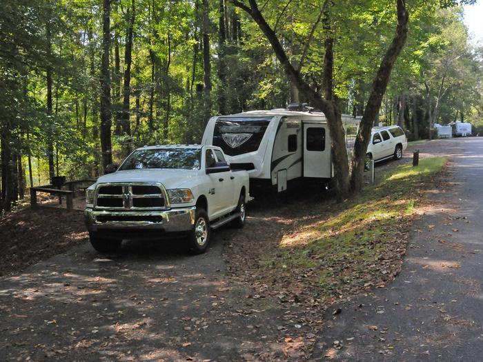Victoria Campground Site 55