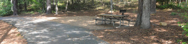 Victoria Campground Site 57