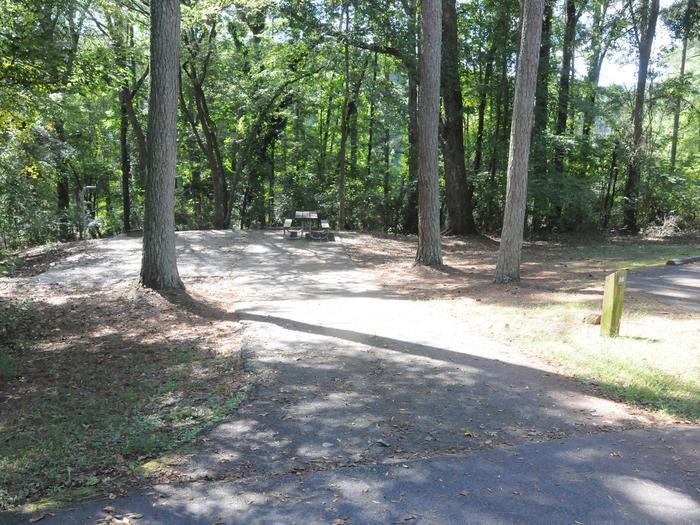 Victoria Campground Site 58