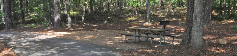 Victoria Campground, Site 61Victoria Campground Site 61
