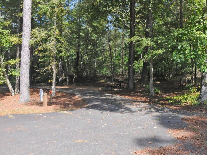 Victoria Campground Site 61