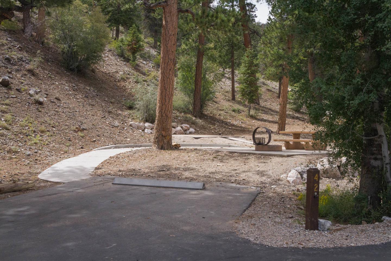 Site 42Site 42 parking spur