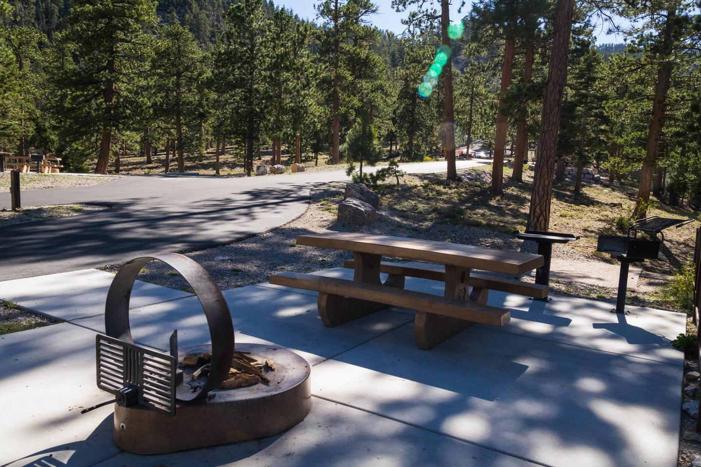 Site 49Site 49 fire ring and table