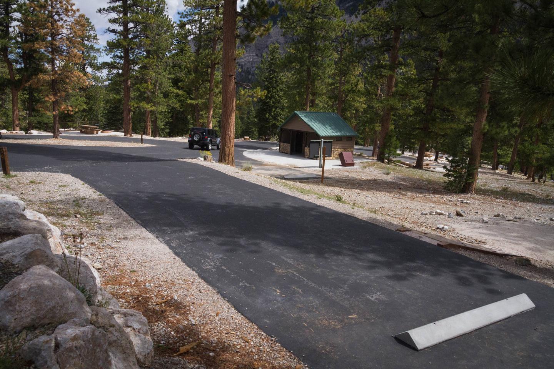 Site 50Site 50 parking spur