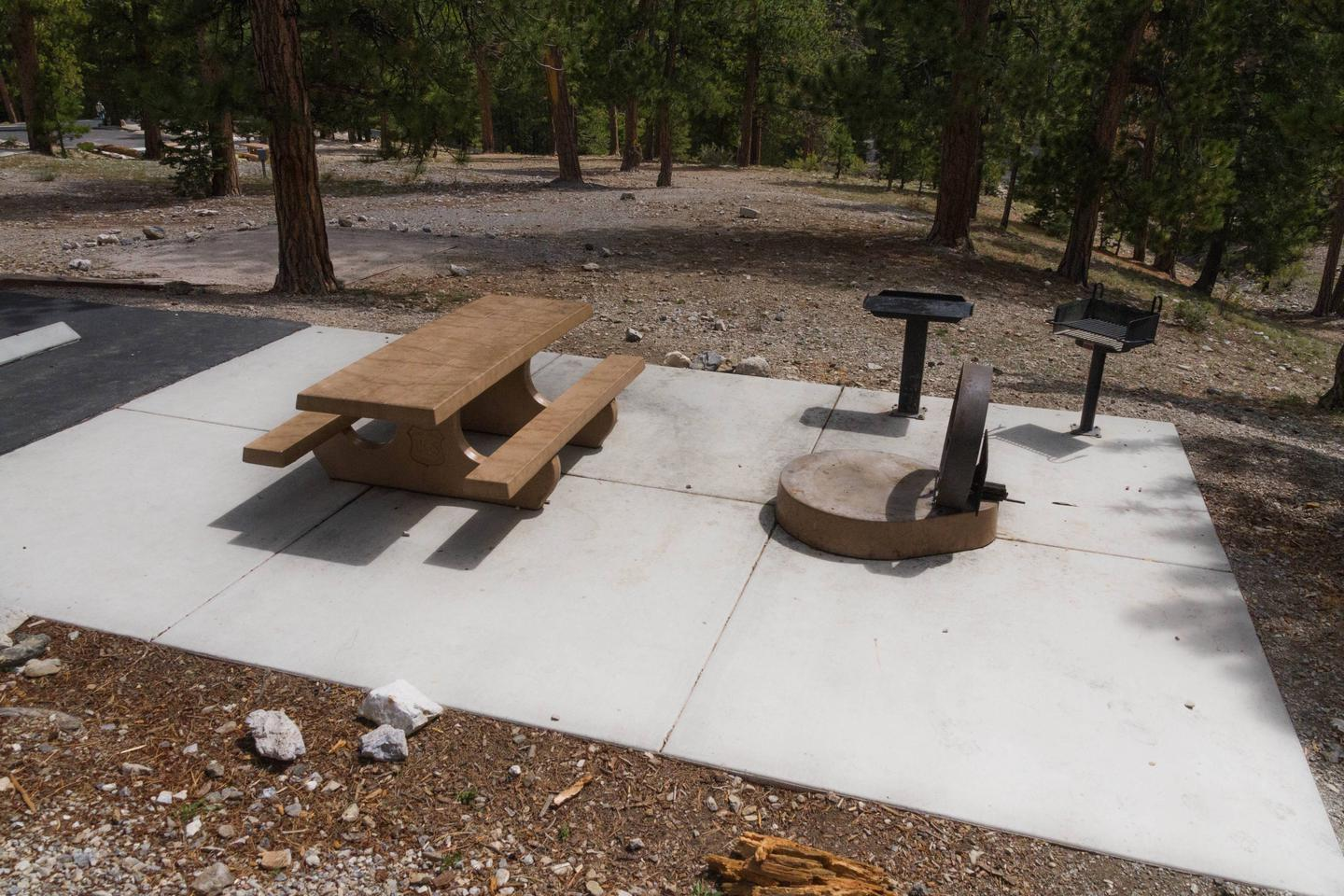 Site 50Site 50 fire ring and table