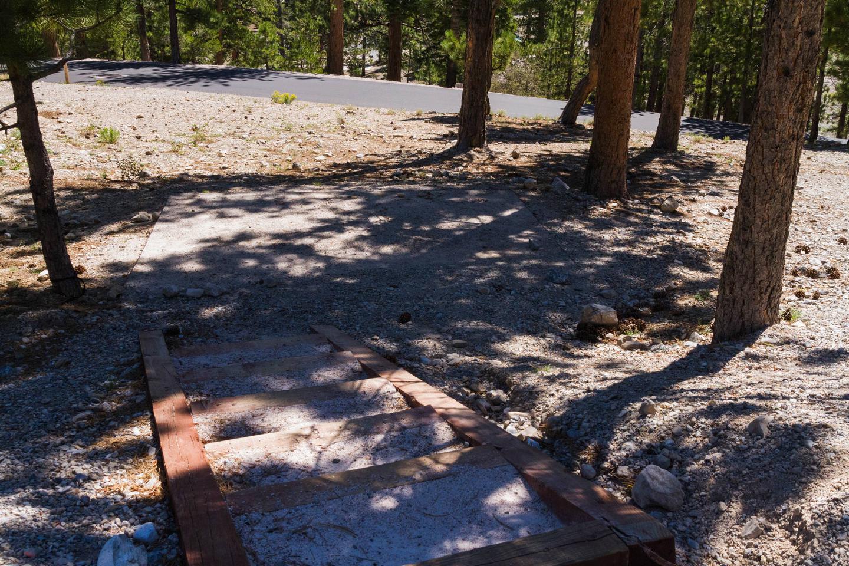 Site 54 Site 54 tent pad