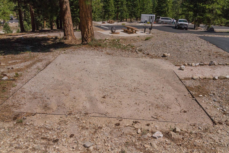 Site 55Site 55 tent pad