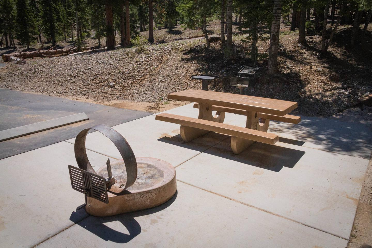 Site 62Site 62 fire ring and table