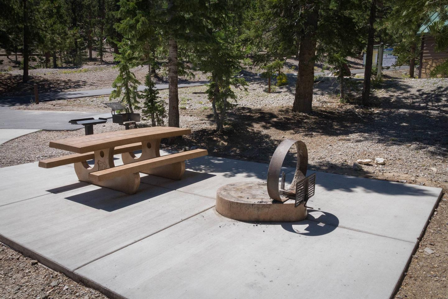 Site 66Site 66 fire ring and table