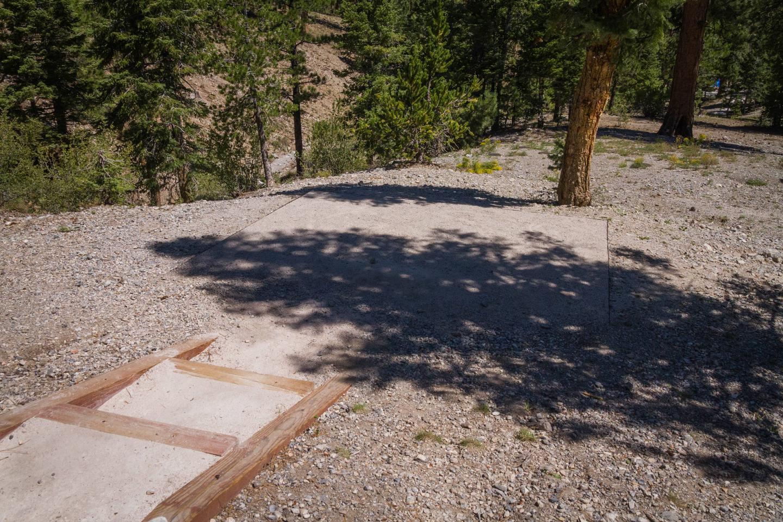 Site 66Site 66 tent pad