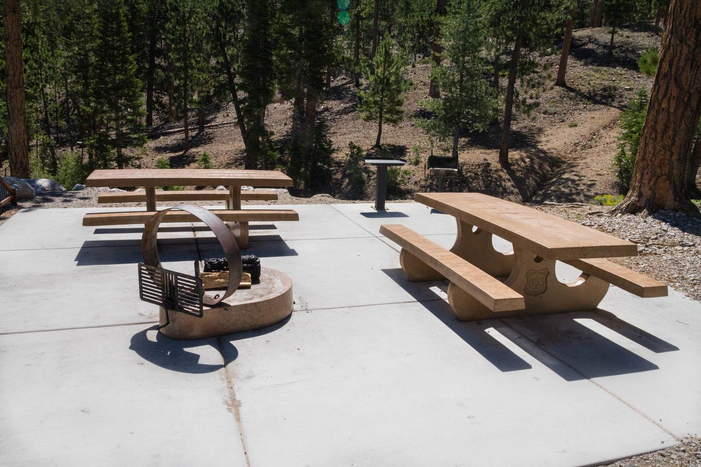 Site 68Site 68 tables and fire ring