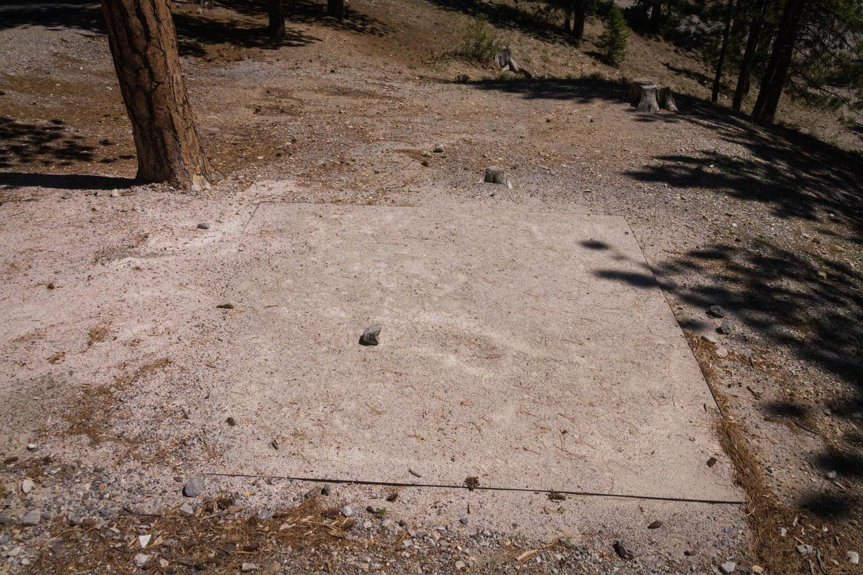 Site 70Site 70 tent pad