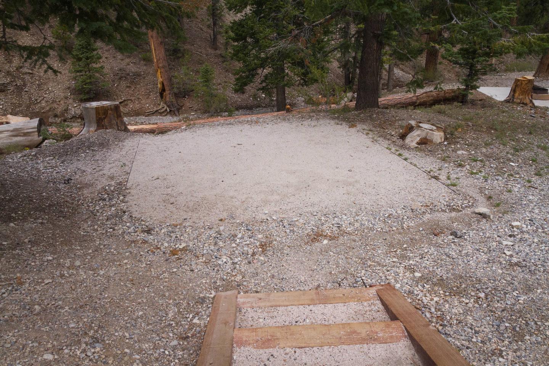 Site 74Site 74 tent pad