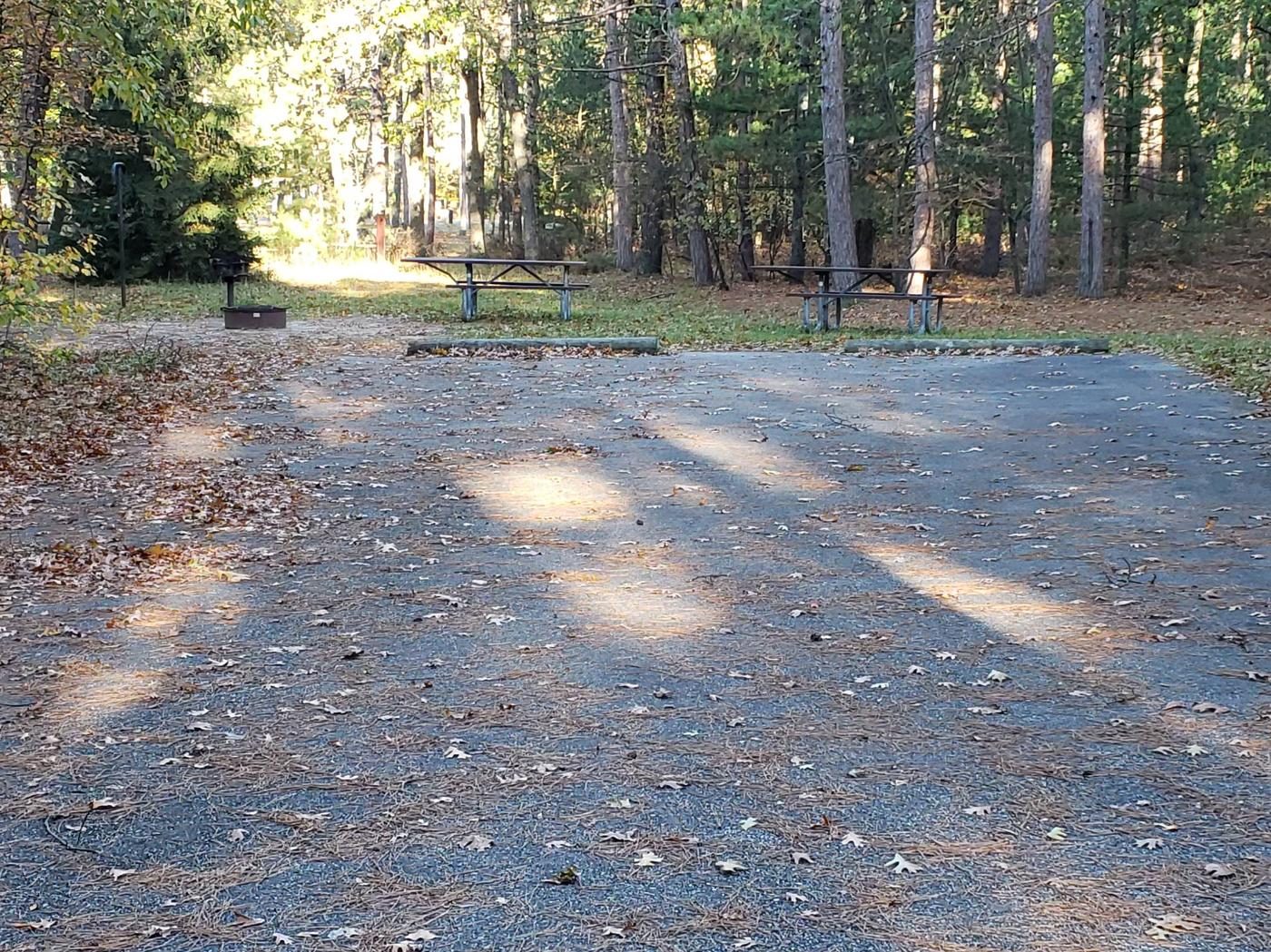 Monument CampgroundSite 12 Double Site