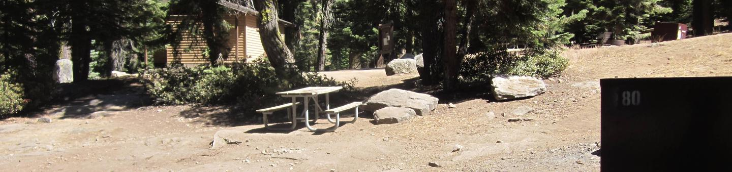 Site 80, Partial Shade, Near Restrooms