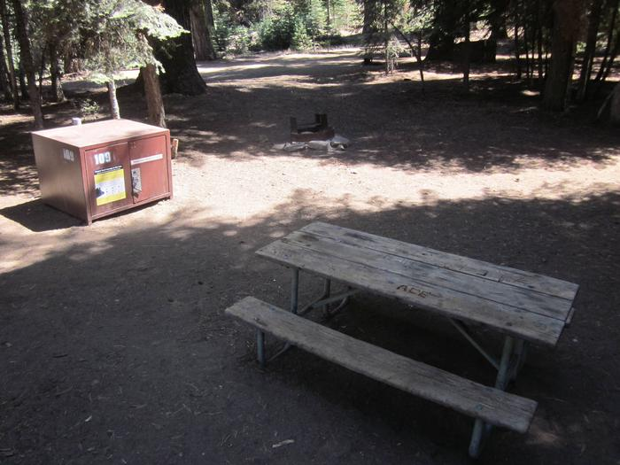 Site 109, Walk-in site, No Generators, One Vehicle, Partial Shade