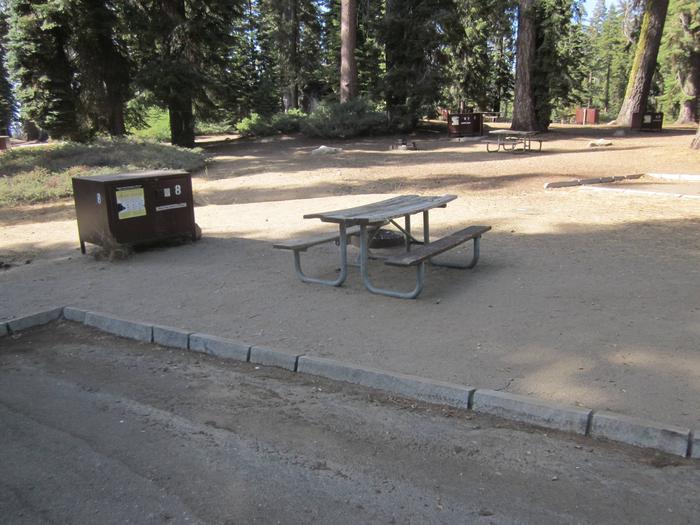 Site 8, Sunny, Near Restrooms