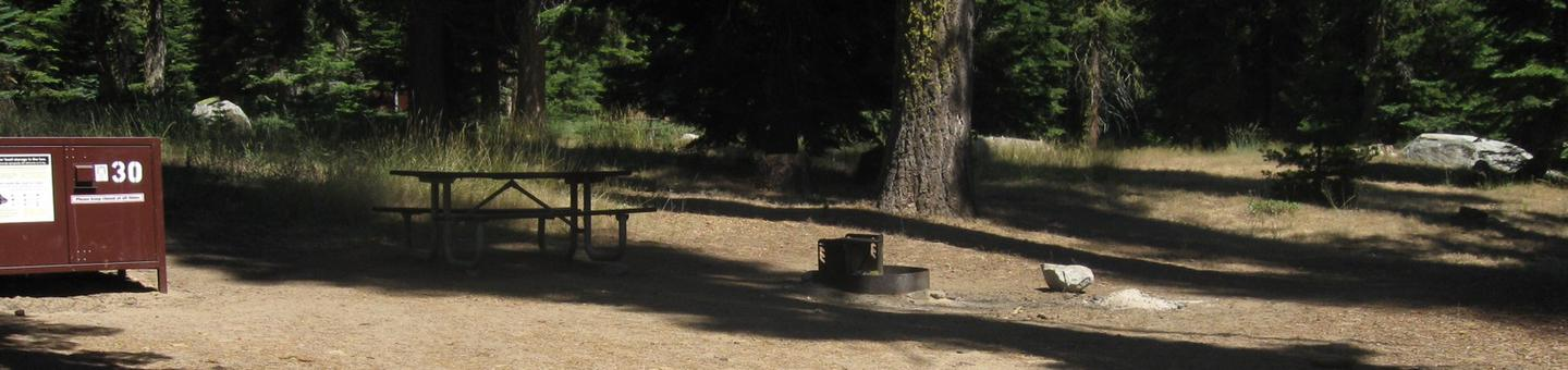 Campsite 30, Partial Shade, Near Creek, Meadow, and  RestroomsCampsite 30, Partial Shade, Near Creek, Meadow, and Restrooms