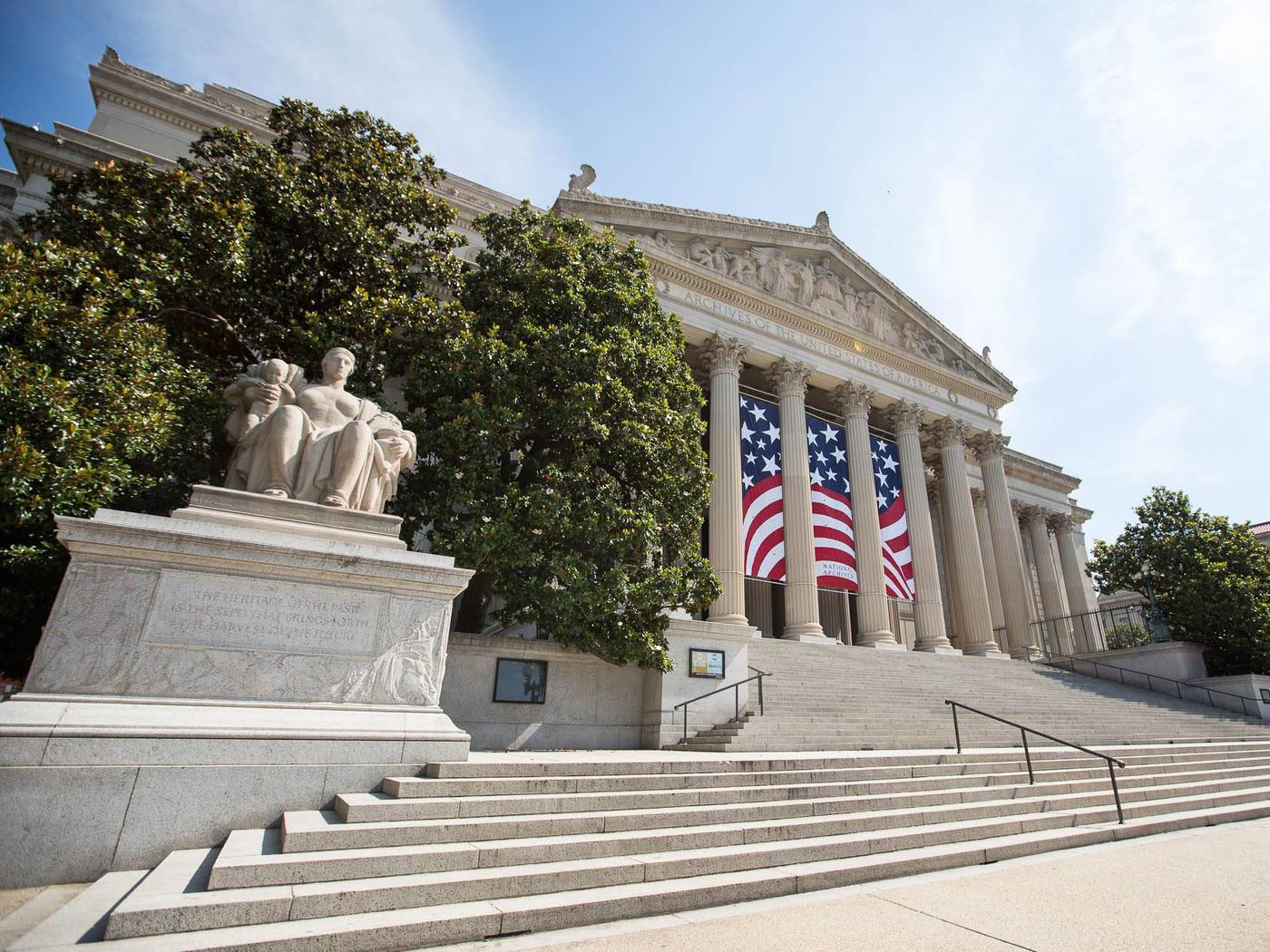National Archives Building, Washington, DC