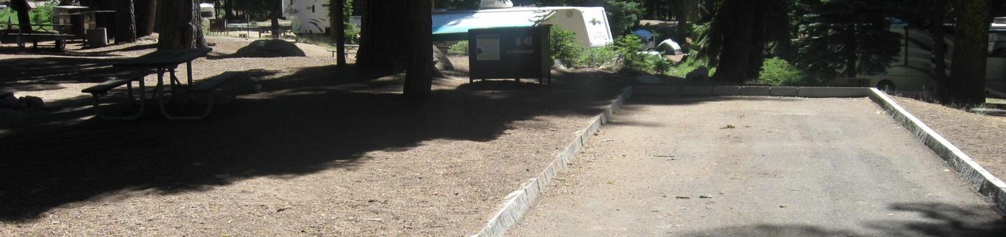 Site 41, Partial Shade, Near Restrooms