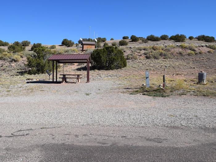 Site 9Camp site 9, Pedernal loop, Riana Campground