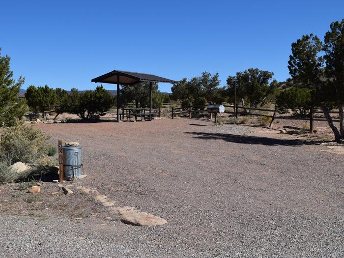 Site 20Camp site 20, Chama loop, Riana Campground