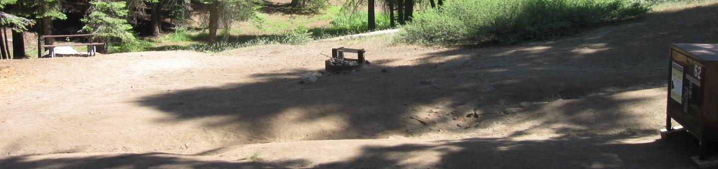 Site 62, Walk-In Site, Partial Shade, Near Creek and Meadow