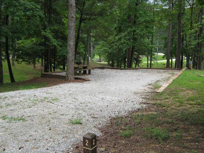 Choctaw Lake Campground Site - 1