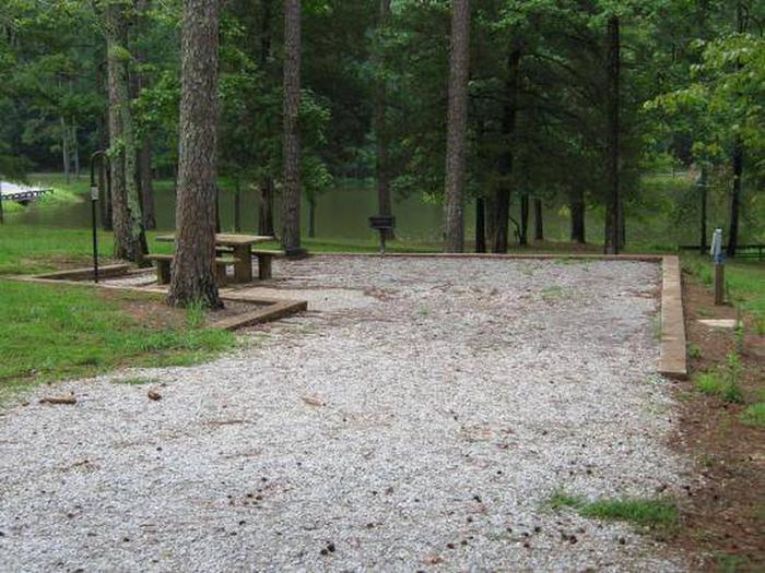 Choctaw Lake Campground Site - 4Choctaw Lake Campground Site - 4