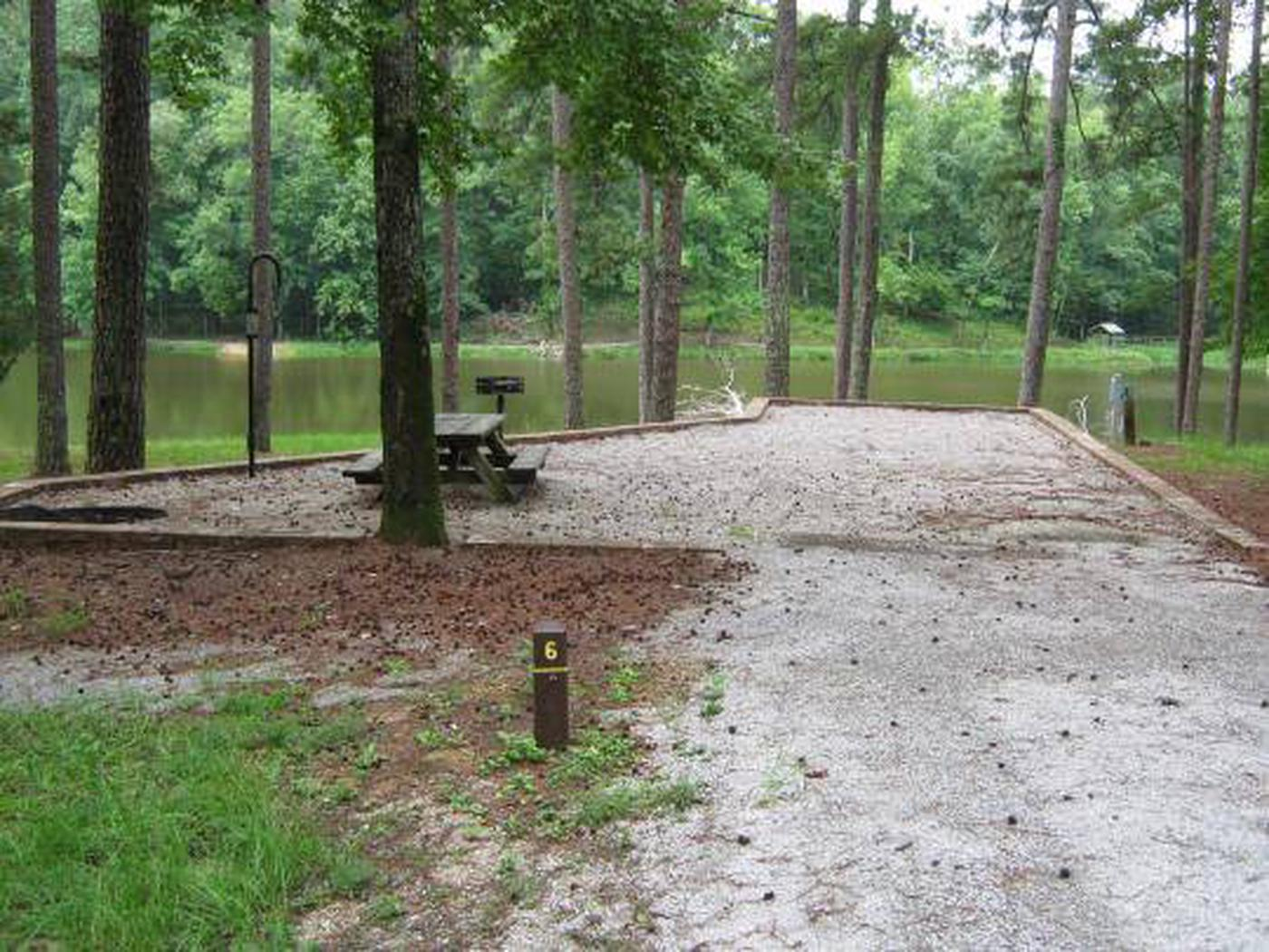 Choctaw Lake Campground Site - 6