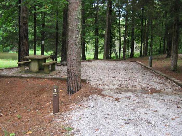 Choctaw Lake Campground Site - 9Choctaw Lake Campground Site - 9