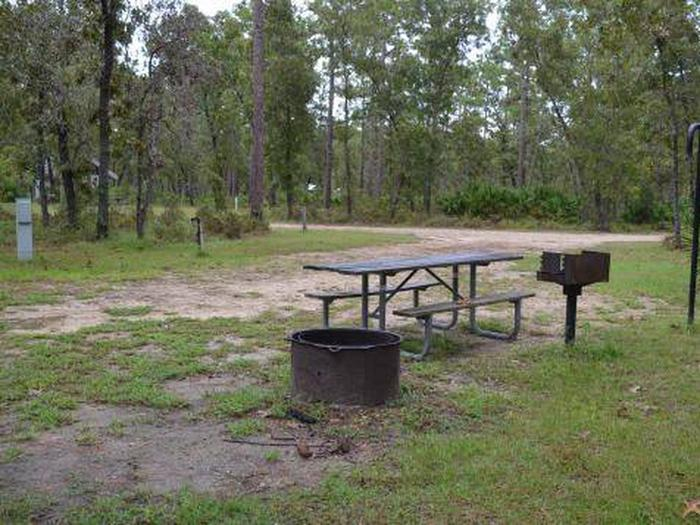 Camel Lake Campground-Site 4