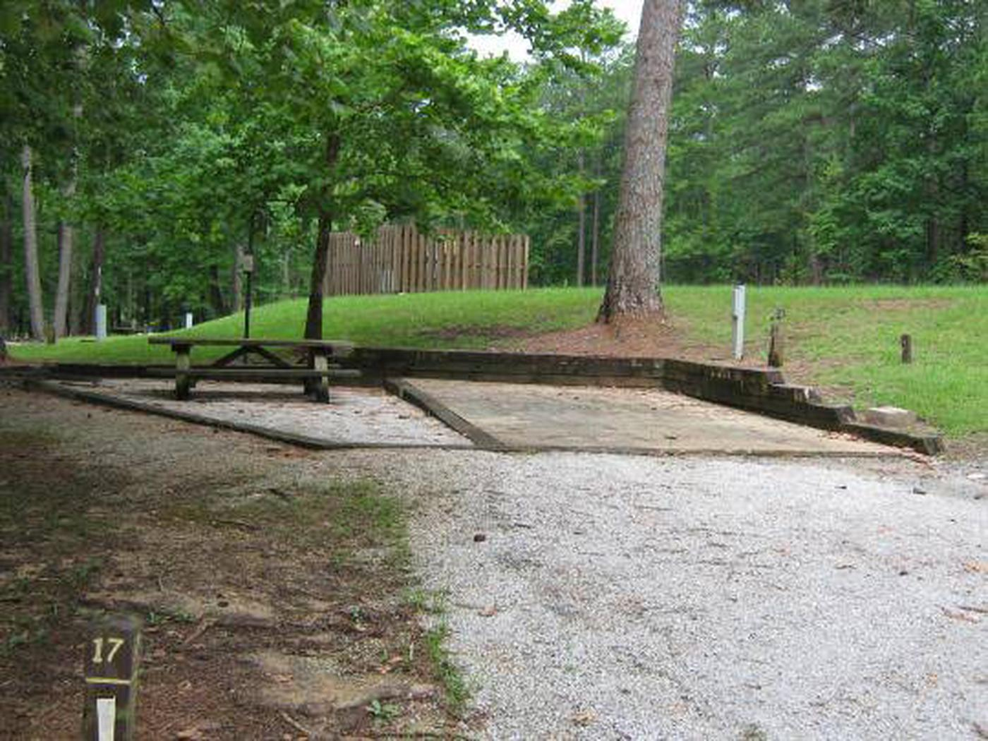 Choctaw Lake Campground Site - 17